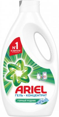 Ariel Жидкий стиральный порошок Горный родник 1,95 л = 4.5 кг (4015400892670)